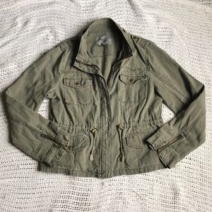 American Rag XL Army Green Utility Military Jacket